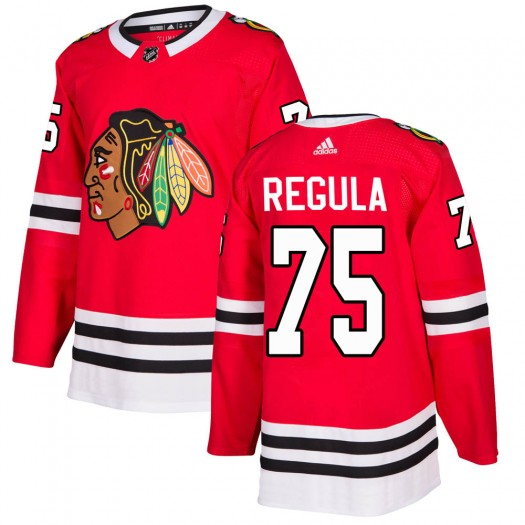 Alec Regula Chicago Blackhawks Youth Adidas Authentic Red ized Home Jersey