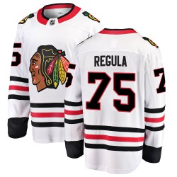 Alec Regula Chicago Blackhawks Youth Fanatics Branded White Breakaway Away Jersey