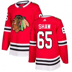 Andrew Shaw Chicago Blackhawks Men's Adidas Authentic Red Home Jersey