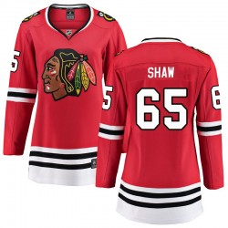 Andrew Shaw Chicago Blackhawks Women's Fanatics Branded Red Breakaway Home Jersey