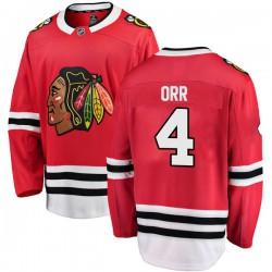 Bobby Orr Chicago Blackhawks Men's Fanatics Branded Red Breakaway Home Jersey