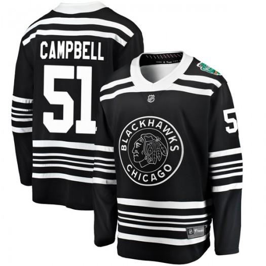 Brian Campbell Chicago Blackhawks Youth Fanatics Branded Black 2019 Winter Classic Breakaway Jersey