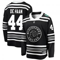 Calvin de Haan Chicago Blackhawks Youth Fanatics Branded Black 2019 Winter Classic Breakaway Jersey