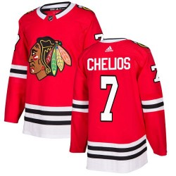 Chris Chelios Chicago Blackhawks Youth Adidas Authentic Red Home Jersey