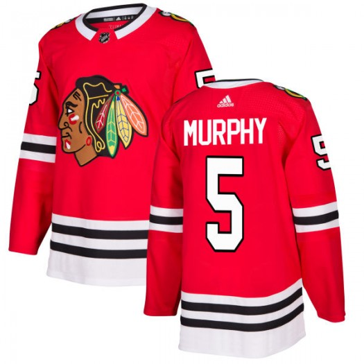 Connor Murphy Chicago Blackhawks Men's Adidas Authentic Red Jersey