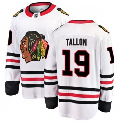 Dale Tallon Chicago Blackhawks Men's Fanatics Branded White Breakaway Away Jersey