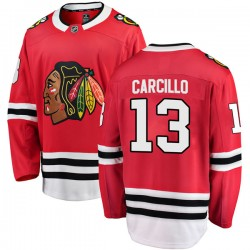 Daniel Carcillo Chicago Blackhawks Men's Fanatics Branded Red Breakaway Home Jersey