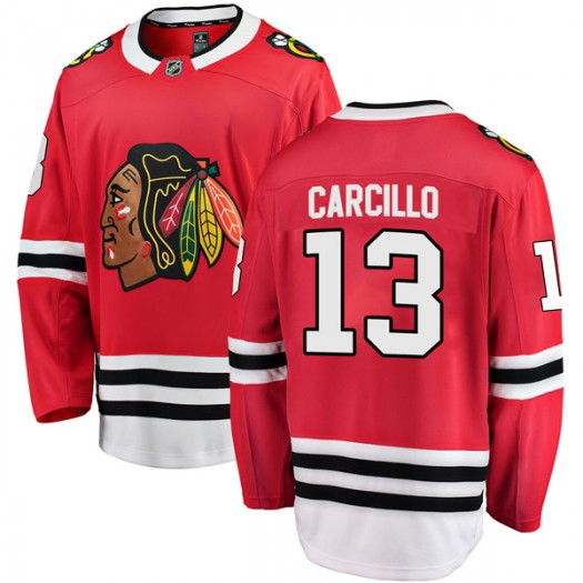 Daniel Carcillo Chicago Blackhawks Youth Fanatics Branded Red Breakaway Home Jersey