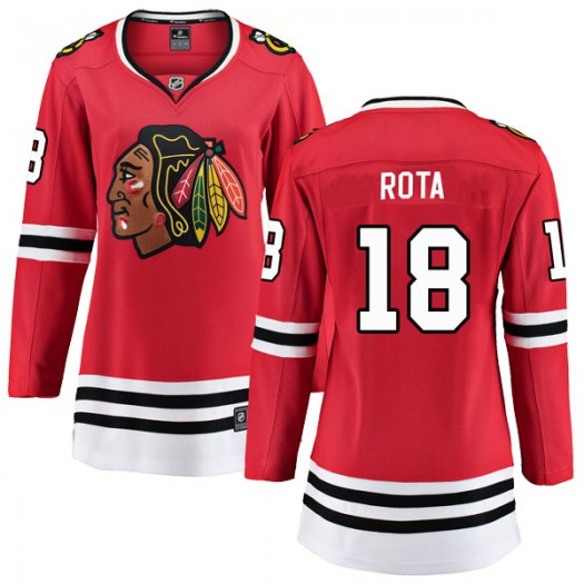 Darcy Rota Chicago Blackhawks Women's Fanatics Branded Red Breakaway Home Jersey