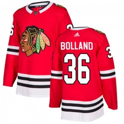 Dave Bolland Chicago Blackhawks Men's Adidas Authentic Red Home Jersey