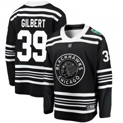 Dennis Gilbert Chicago Blackhawks Men's Fanatics Branded Black 2019 Winter Classic Breakaway Jersey