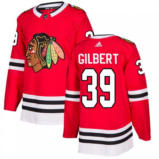 Dennis Gilbert Chicago Blackhawks Youth Adidas Authentic Red Home Jersey
