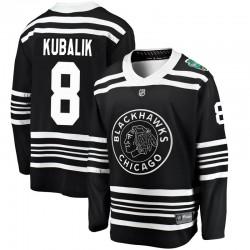 Dominik Kubalik Chicago Blackhawks Men's Fanatics Branded Black 2019 Winter Classic Breakaway Jersey