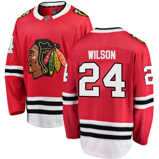Doug Wilson Chicago Blackhawks Youth Fanatics Branded Red Breakaway Home Jersey