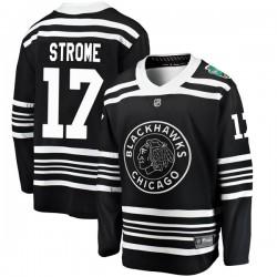 Dylan Strome Chicago Blackhawks Men's Fanatics Branded Black 2019 Winter Classic Breakaway Jersey