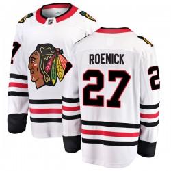 Jeremy Roenick Chicago Blackhawks Men's Fanatics Branded White Breakaway Away Jersey