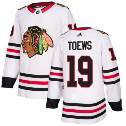 Jonathan Toews Chicago Blackhawks Men's Adidas Authentic White Jersey