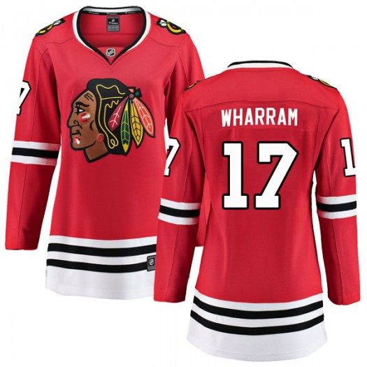 Kenny Wharram Chicago Blackhawks Women's Fanatics Branded Red Breakaway Home Jersey