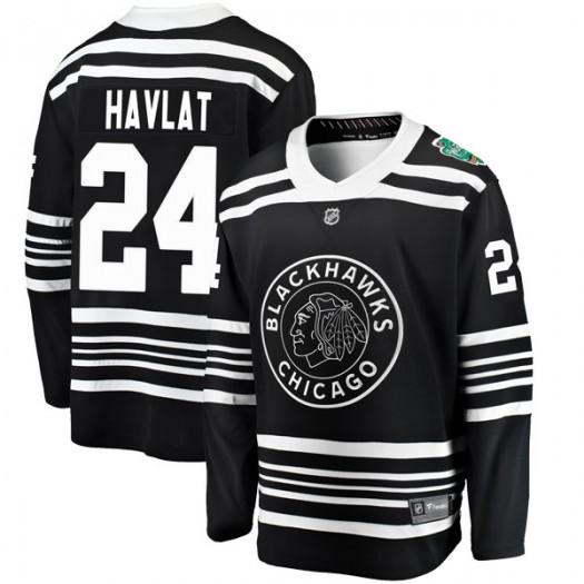 Martin Havlat Chicago Blackhawks Men's Fanatics Branded Black 2019 Winter Classic Breakaway Jersey
