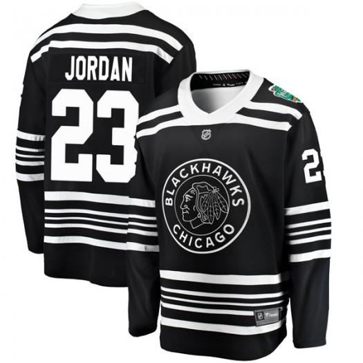 Michael Jordan Chicago Blackhawks Youth Fanatics Branded Black 2019 Winter Classic Breakaway Jersey