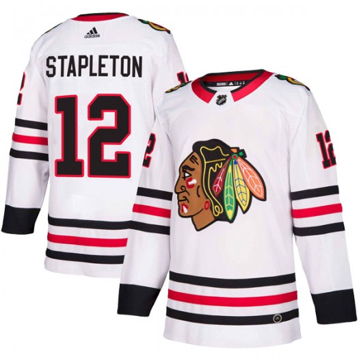 Pat Stapleton Chicago Blackhawks Men's Adidas Authentic White Away Jersey