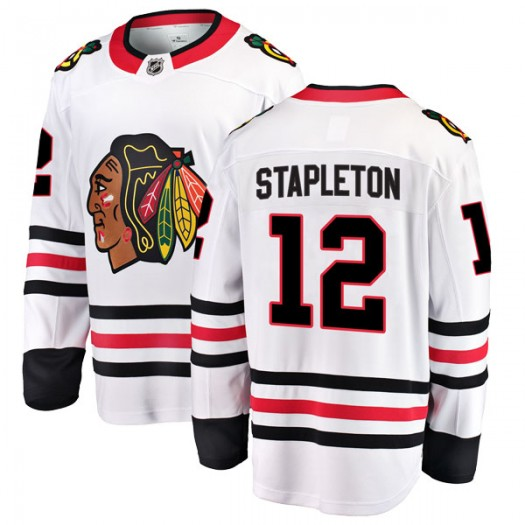 Pat Stapleton Chicago Blackhawks Men's Fanatics Branded White Breakaway Away Jersey