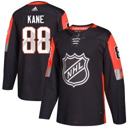 Patrick Kane Chicago Blackhawks Men's Adidas Authentic Black 2018 All-Star Central Division Jersey