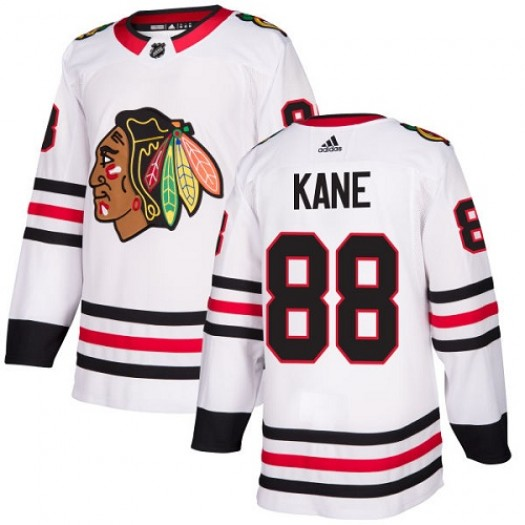 Patrick Kane Chicago Blackhawks Women's Adidas Authentic White Away Jersey