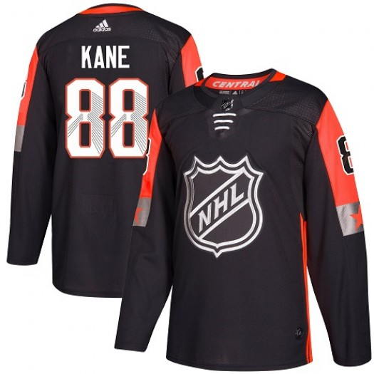 Patrick Kane Chicago Blackhawks Youth Adidas Authentic Black 2018 All-Star Central Division Jersey