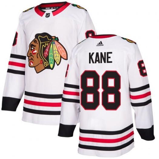 Patrick Kane Chicago Blackhawks Youth Adidas Authentic White Away Jersey
