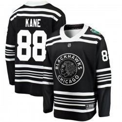 Patrick Kane Chicago Blackhawks Youth Fanatics Branded Black 2019 Winter Classic Breakaway Jersey