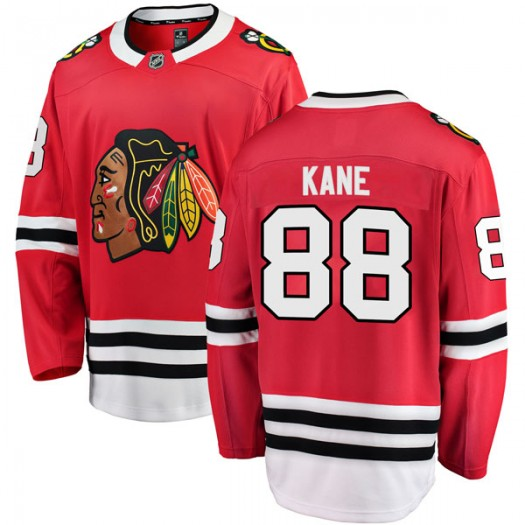 Patrick Kane Chicago Blackhawks Youth Fanatics Branded Red Breakaway Home Jersey