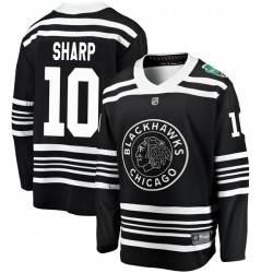Patrick Sharp Chicago Blackhawks Men's Fanatics Branded Black 2019 Winter Classic Breakaway Jersey