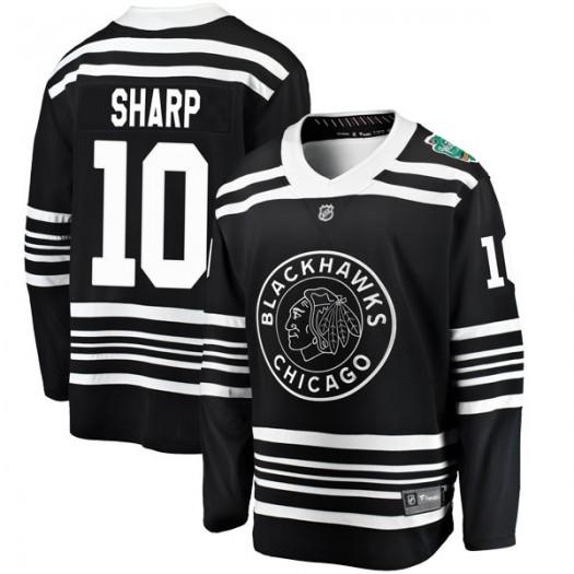 Patrick Sharp Chicago Blackhawks Men's Fanatics Branded Black 2019 Winter Classic Breakaway Jersey