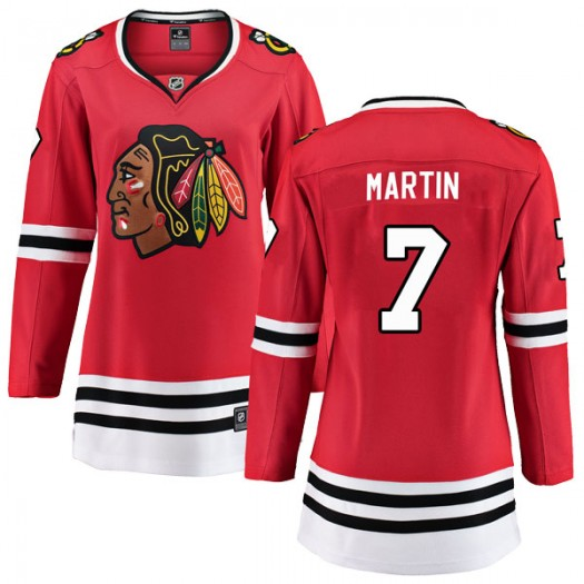 Pit Martin Chicago Blackhawks Women's Fanatics Branded Red Breakaway Home Jersey