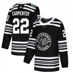 Ryan Carpenter Chicago Blackhawks Men's Adidas Authentic Black 2019 Winter Classic Jersey