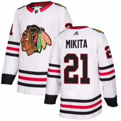 Stan Mikita Chicago Blackhawks Men's Adidas Authentic White Jersey