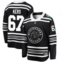 Tanner Kero Chicago Blackhawks Youth Fanatics Branded Black 2019 Winter Classic Breakaway Jersey