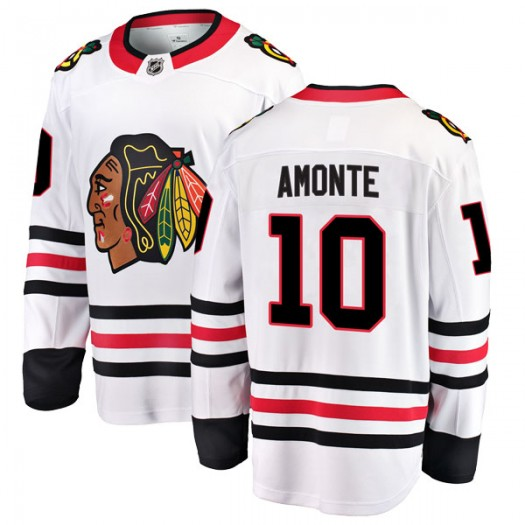 Tony Amonte Chicago Blackhawks Youth Fanatics Branded White Breakaway Away Jersey