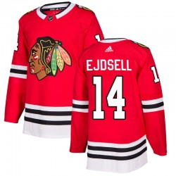 Victor Ejdsell Chicago Blackhawks Men's Adidas Authentic Red Home Jersey