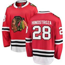 Vinnie Hinostroza Chicago Blackhawks Men's Fanatics Branded Red Breakaway Home Jersey
