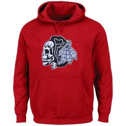 Chicago Blackhawks Men's Red Hoodie