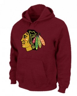 Chicago Blackhawks Men's Red Pullover Hoodie