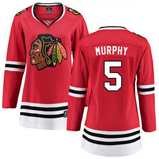 Connor Murphy Chicago Blackhawks Women's Fanatics Branded Red Home Breakaway Jersey