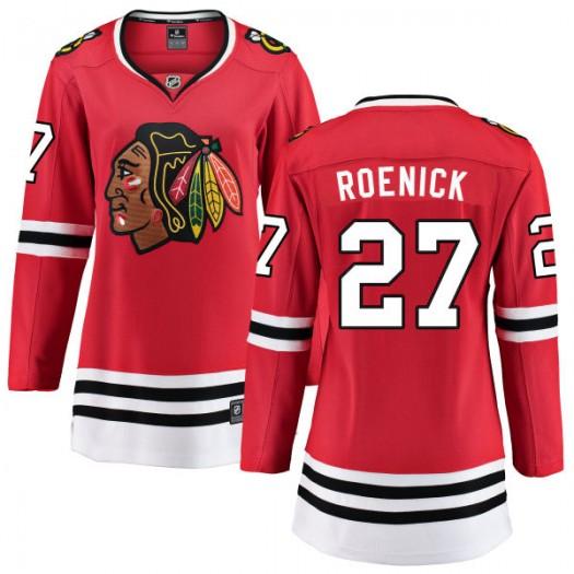 Jeremy Roenick Chicago Blackhawks Women's Fanatics Branded Red Home Breakaway Jersey