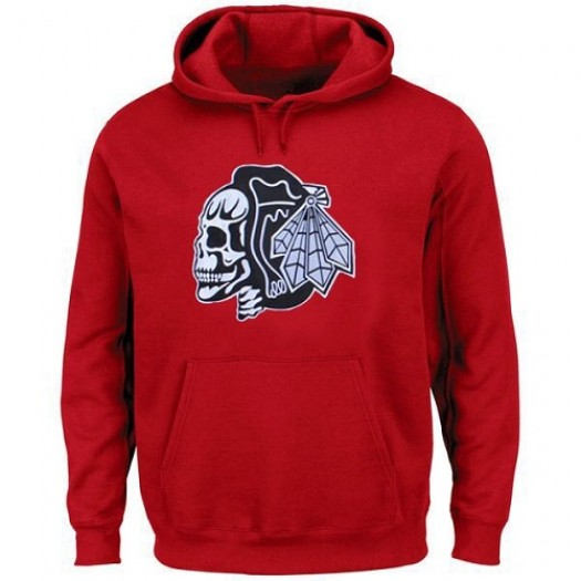 Chicago Blackhawks Men's Red Hoodie