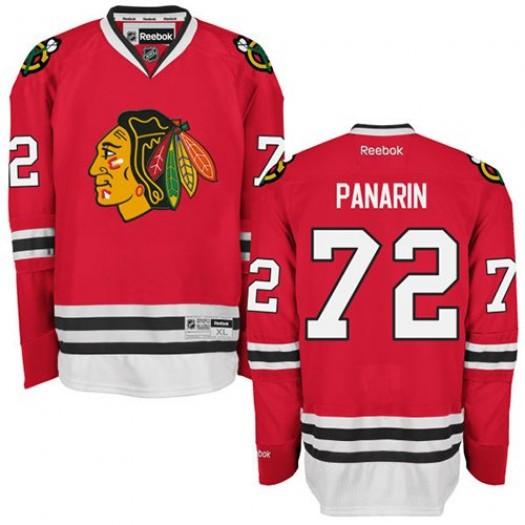 Artemi Panarin Chicago Blackhawks Men's Reebok Authentic Red Home Jersey