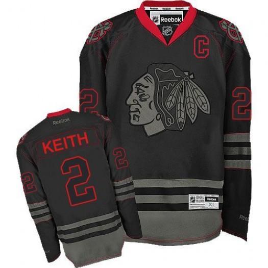 Duncan Keith Chicago Blackhawks Men's Reebok Authentic Black Ice Jersey