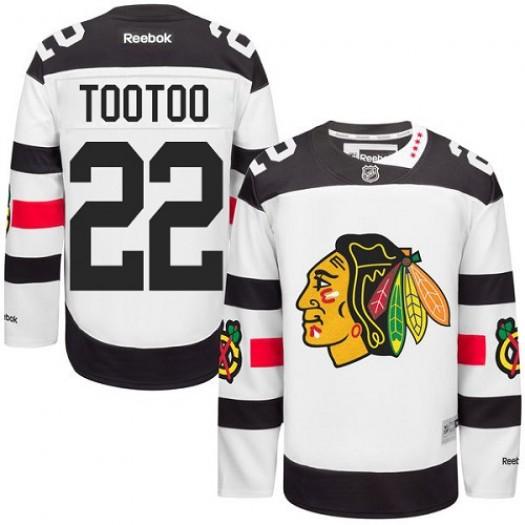 Jordin Tootoo Chicago Blackhawks Men's Reebok Authentic White 2016 Stadium Series Jersey
