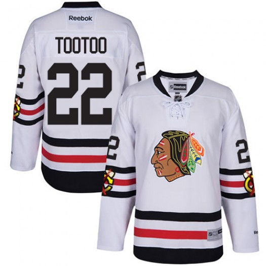Jordin Tootoo Chicago Blackhawks Youth Reebok Premier White 2017 Winter Classic Jersey